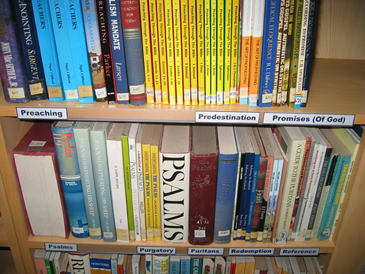 Books are grouped by Category. Using the Online Book Library page, you can search for books bt Category.